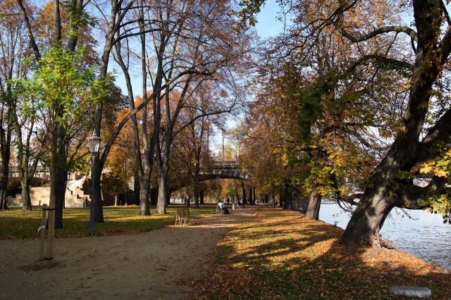 Осень на Стрелецком острове
