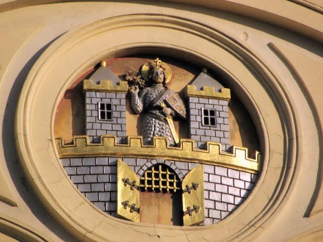 Рельефное украшение башни