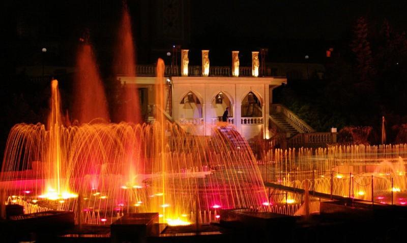 Кржижиковы фонтаны (Křižíkova fontána)