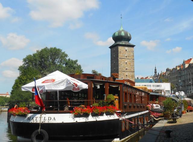 Вид на Шитковскую башню, что на Славянском острове