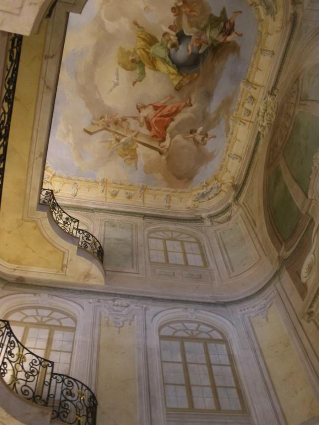 Фрески в часовне Святой Троицы