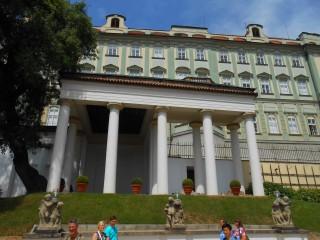 Дворец Рожмберков – институт благородных девиц в Пражском граде