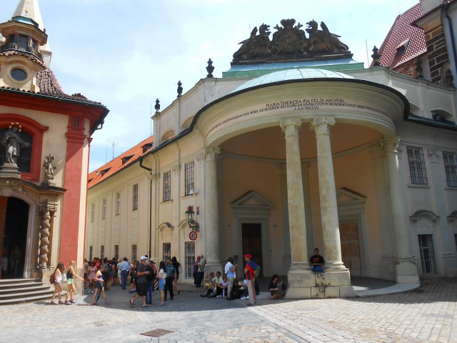 Дворец со стороны площади св. Георгия