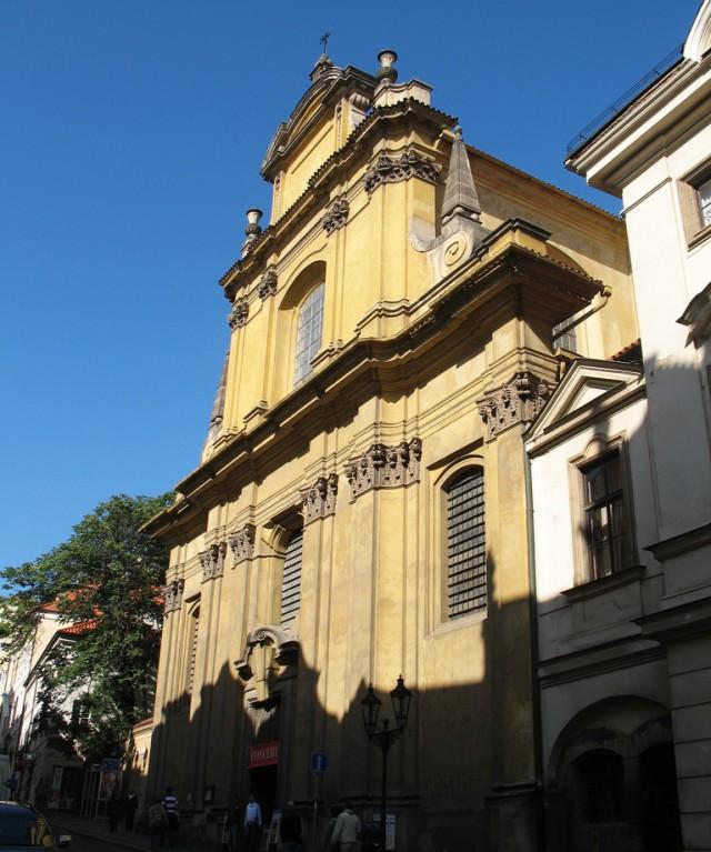 Церковь Девы Марии на Нерудовой 1