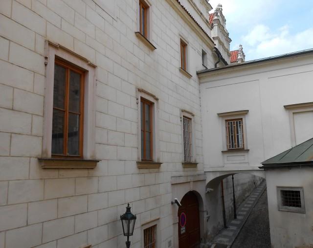 Вид  дворца с Туновской улицы
