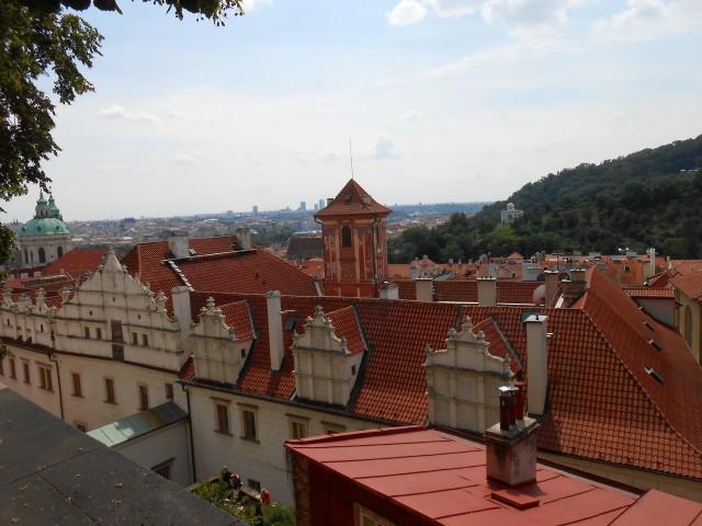 Вид сверху на дворец
