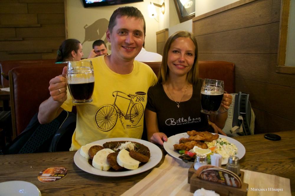 В чешском ресторане