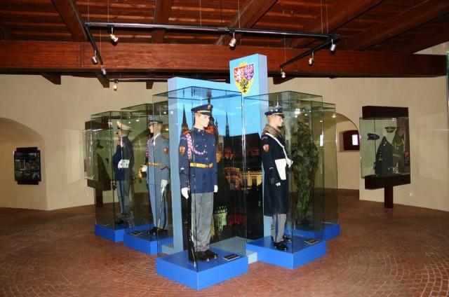 Экспозиция истории  почетного караула Пражского града