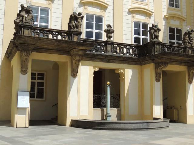Орлиный фонтан (Orlí kašna)