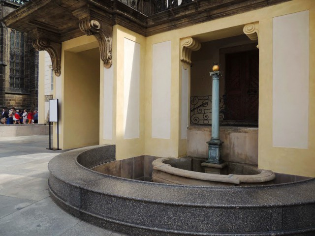Архитектура фонтана