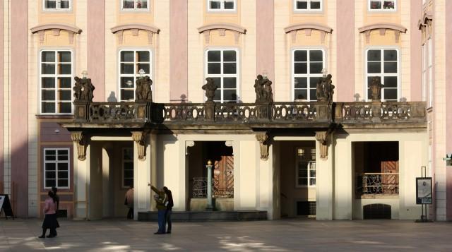 Вход в Старый королевский дворец