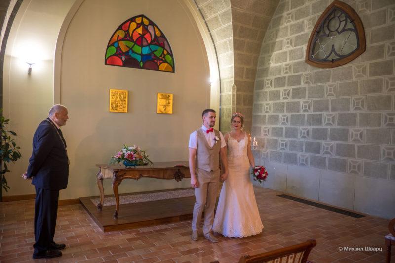 Свадьба в замке Глубока запомнится на всю жизнь!