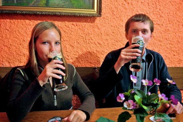 Наше любимое пиво Бернард