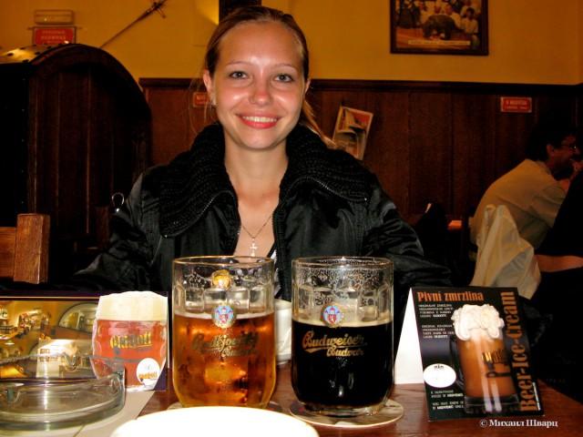 Budějovický Budvar - знаменитое пиво из Ческе Будеёвиц