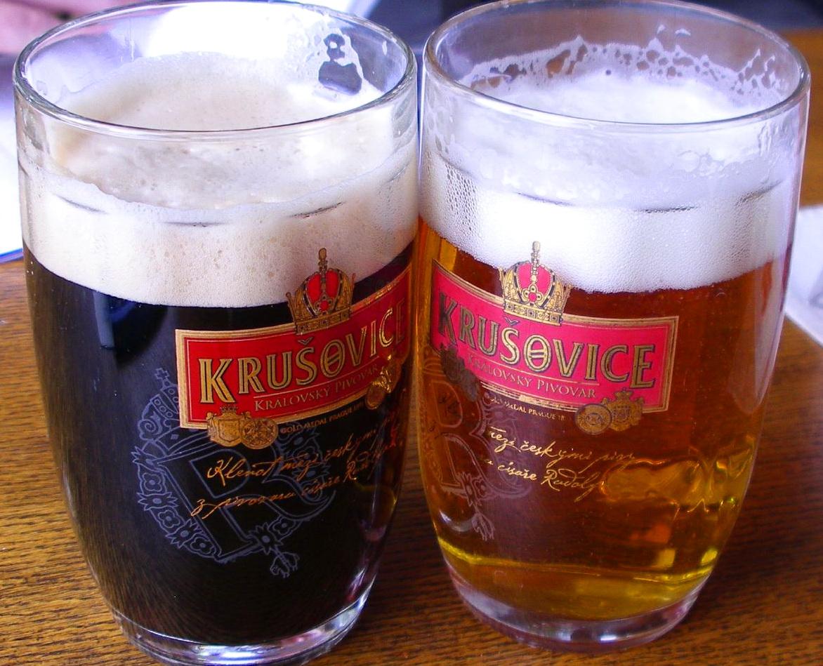 Krušovice варят недалеко от замка Крживоклат на «Королевской пивоварне»