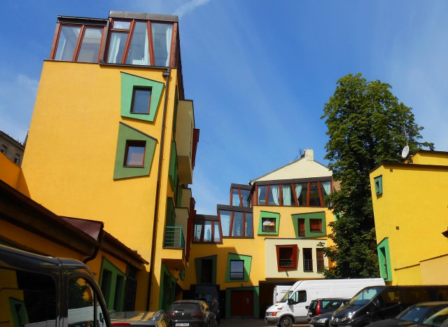 Жилой дом в Праге