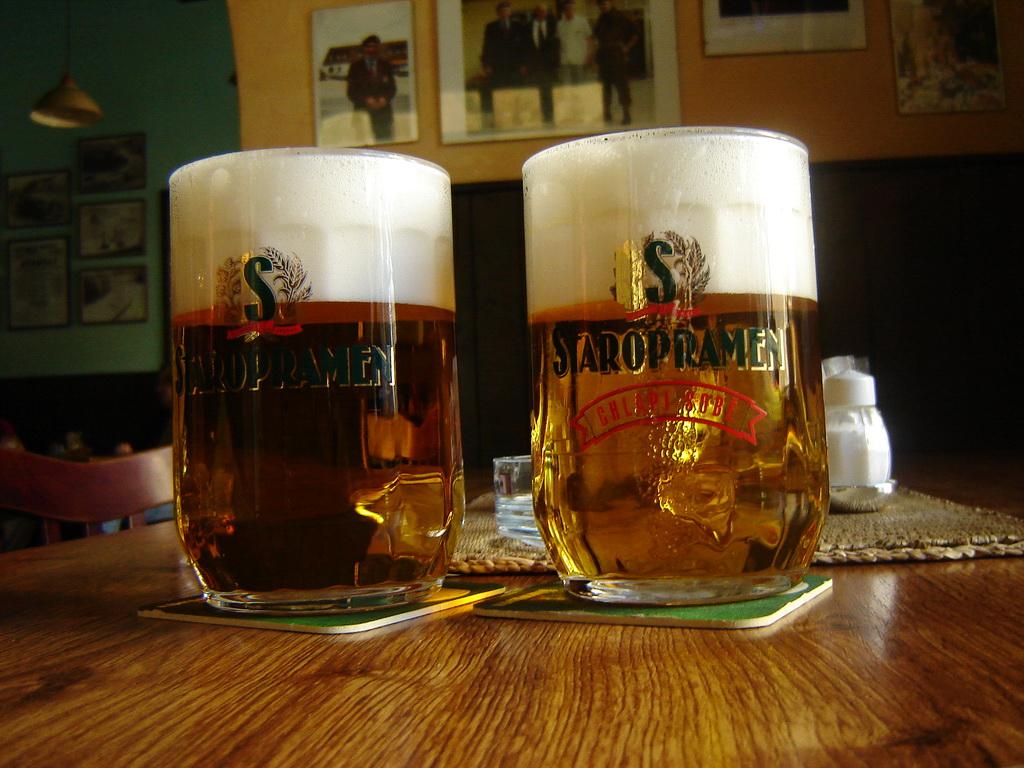Staropramen - варится непосредственно в Праге, в районе Смихов