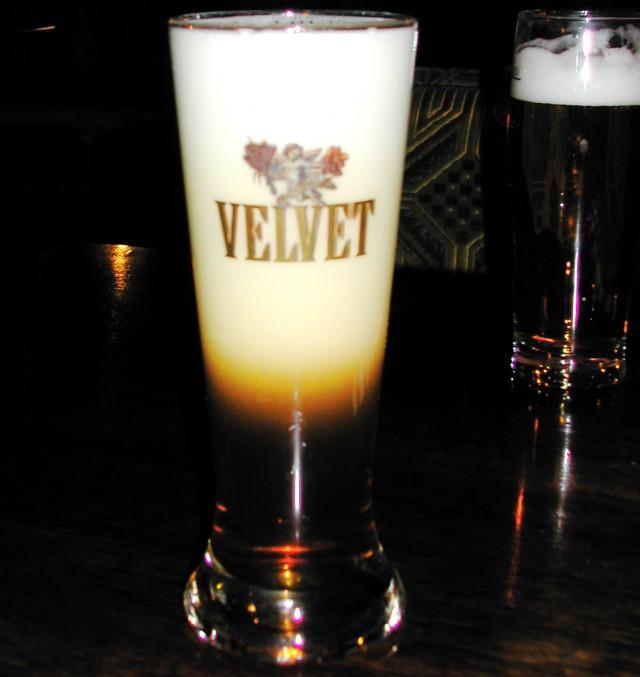 Пиво Velvet с лавинным эффектом