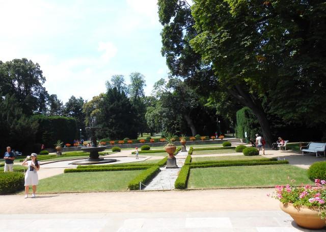 Вид Королевского сада со стороны Бельведера