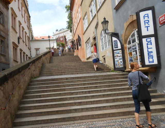 Замковая лестница (новая) (Zámecké schody)