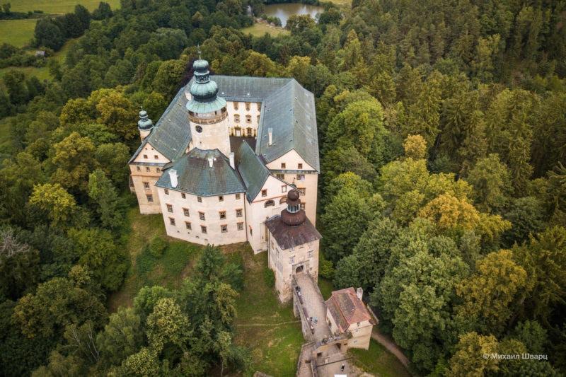 Замок сверху