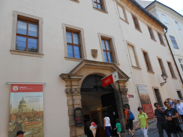Лобковицкий дворец в Пражском граде