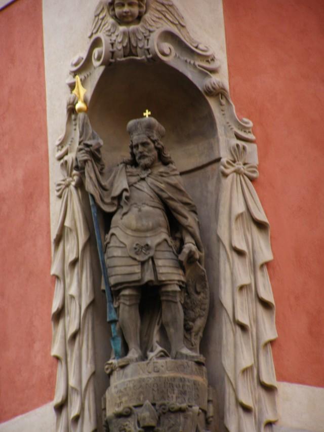 Скульптура святого Вацлава