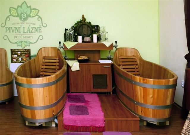 Пивные ванны в Подебрадех