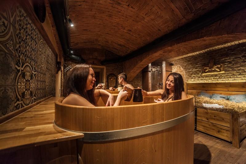 Пивные и винные ванны Lázně Pramen
