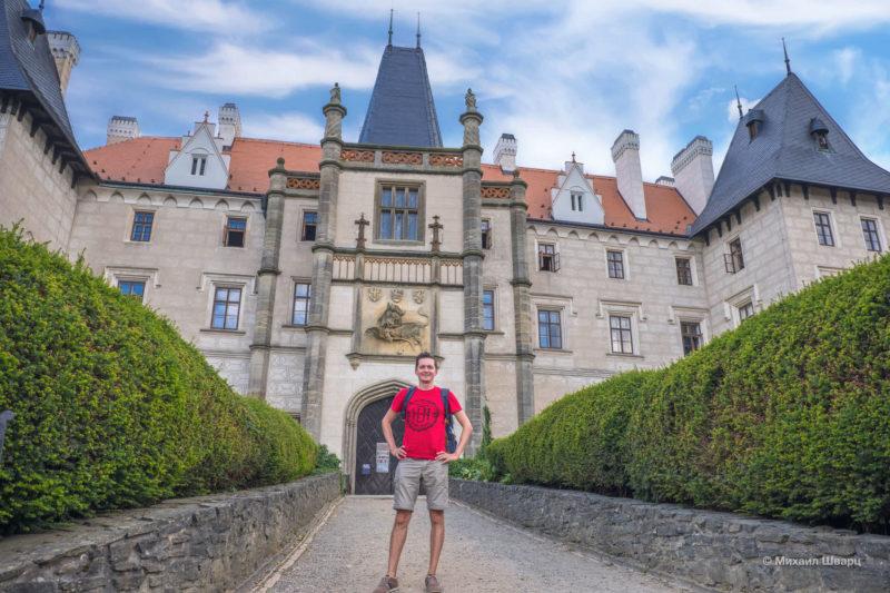 Замок Жлебы (Zámek Žleby)