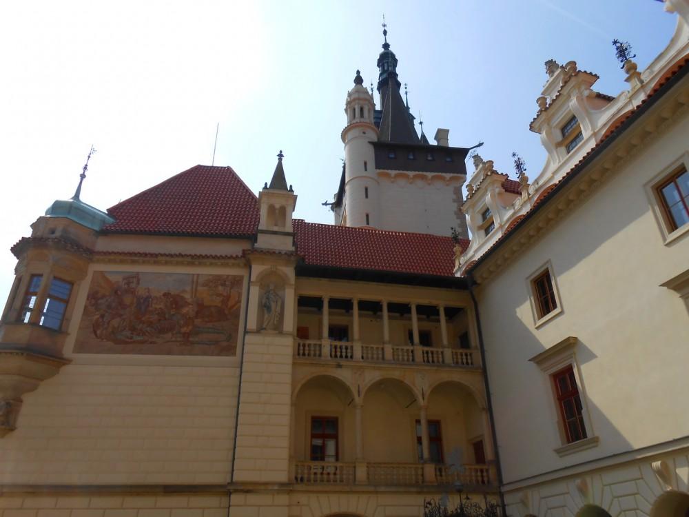 Замок в Пругоницах