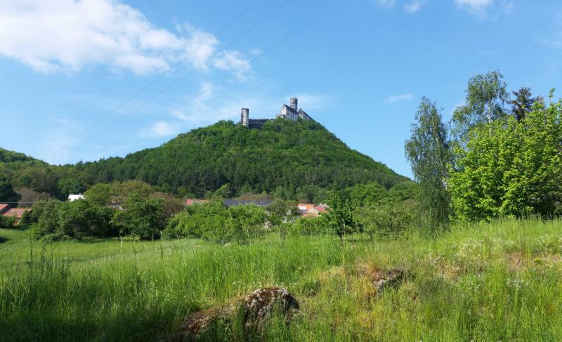Вид на замок
