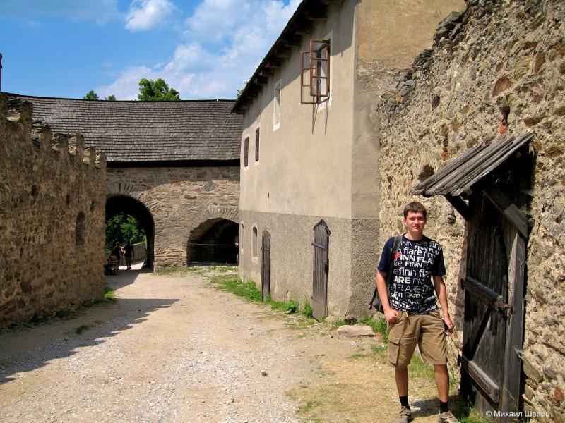 Гуляю по замку Пернштейн
