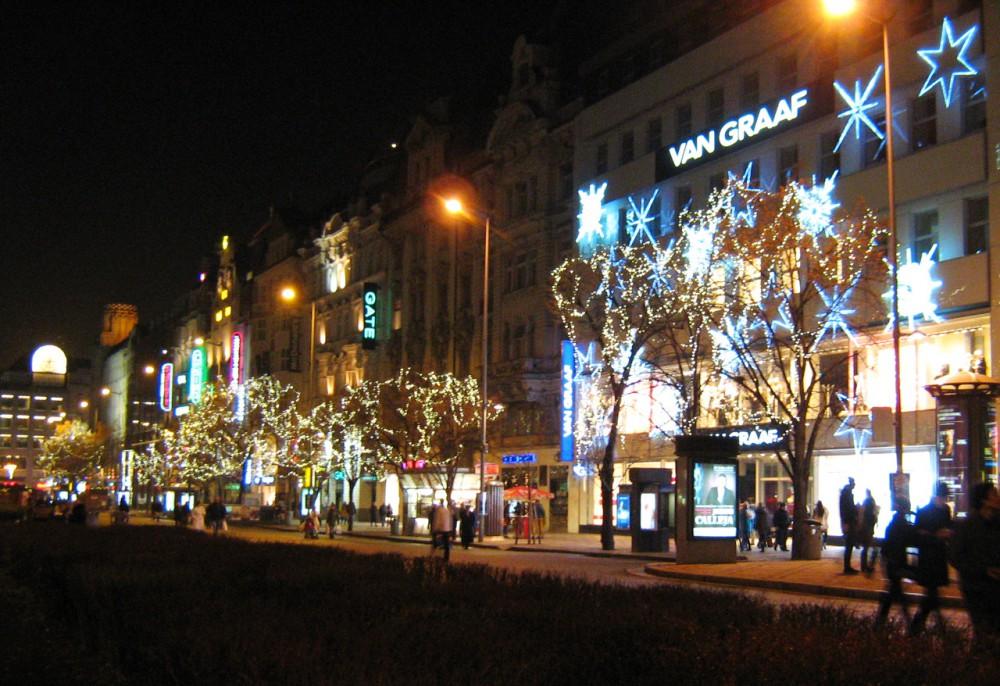 На Вацлавской площади
