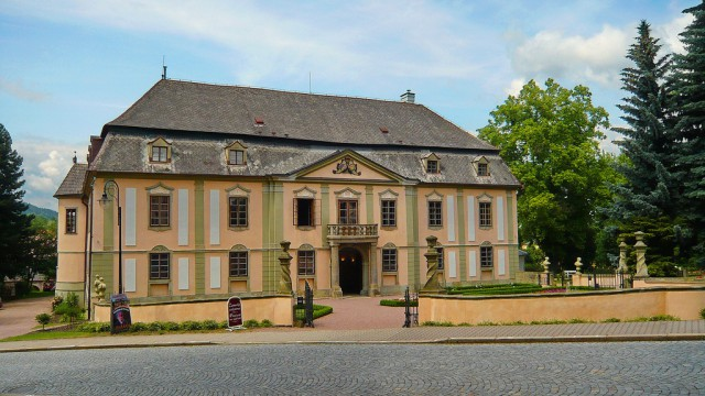 Замковый отель  Potštejn 4*