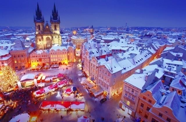 Рождественская ярмарка на Староместской площади