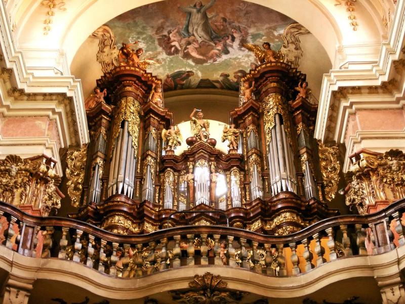 Орган в церкви святого Якуба