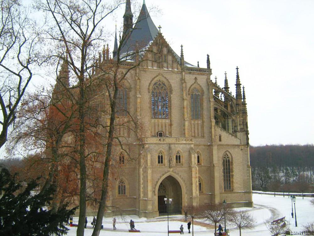 Храм святой Варвары в Кутна-Горе