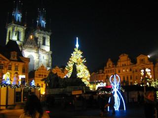 Рождество в Праге