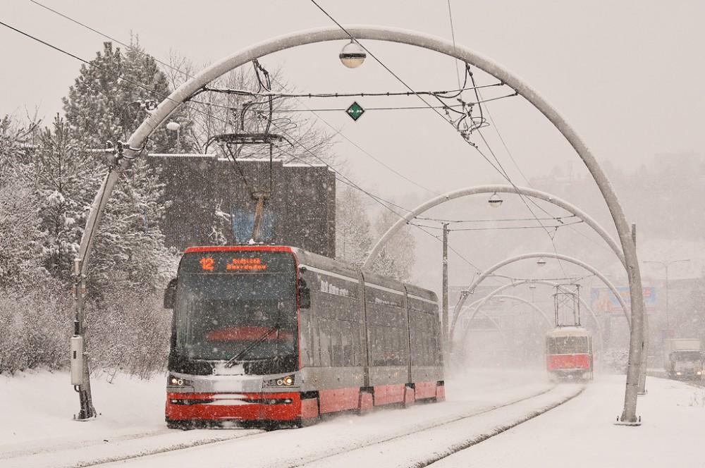 По Праге на трамвае
