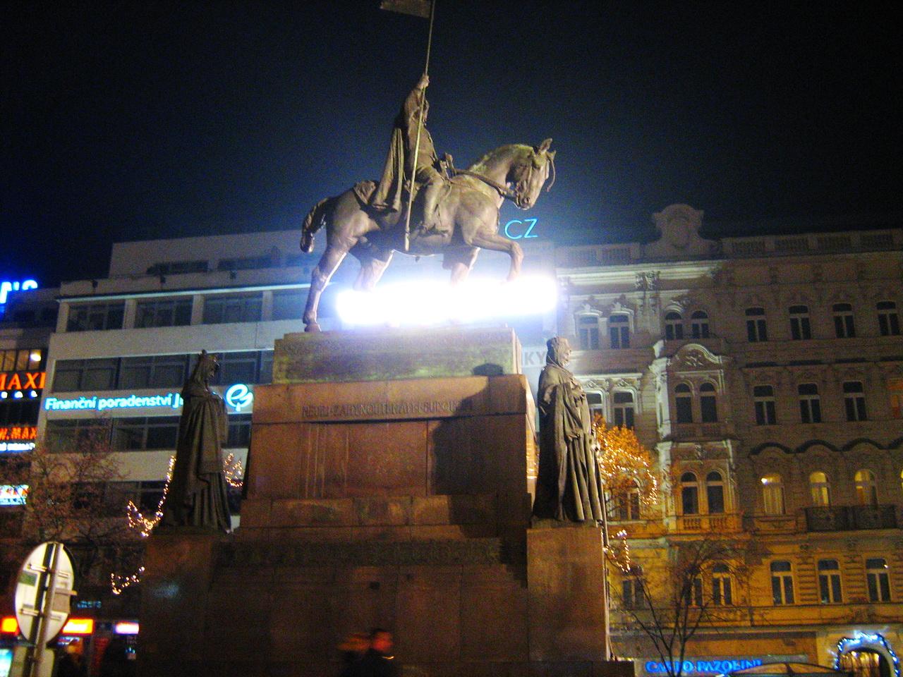 Памятника Святому Вацлаву на Вацлавской площади