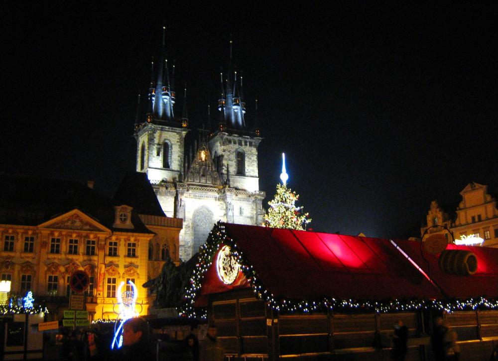 Рождество. Староместская площадь