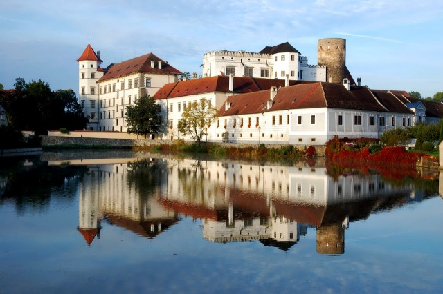 Замок Йиндржихув Градец (Zámek Jindřichův Hradec)