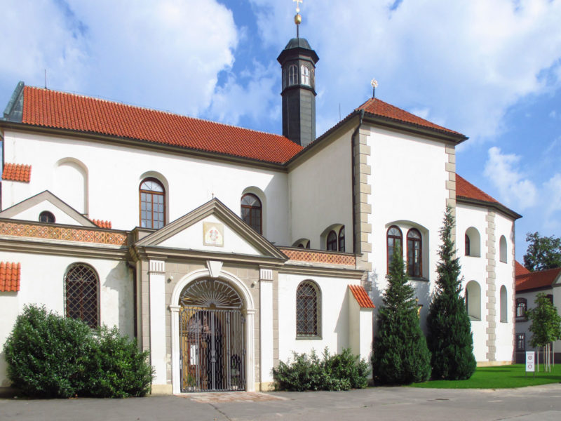 Церковь св. Якуба Старшего (Kostel sv. Jakuba Staršího)