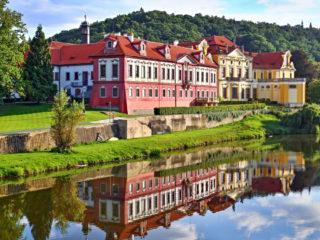 Збраславский замок и монастырь