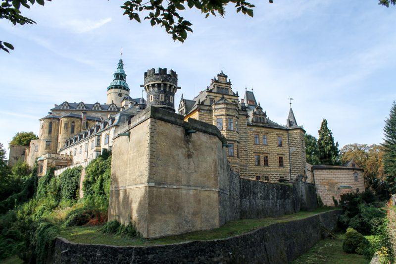 Стены замка Фридлант (Zámek Frýdlant)