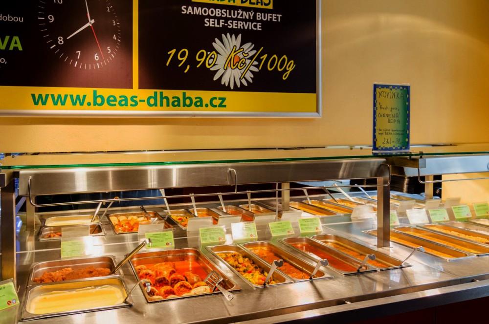 Вегетарианский ресторан Dhaba