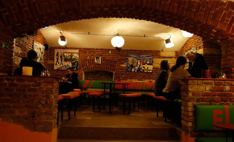 В ресторане Vegtral