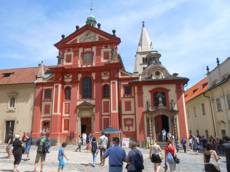 Монастырь святого Георгия (Klášter svatého Jiří)