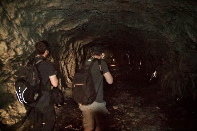 Незаконное вторжение в туннель военного объекта